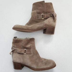 J. Crew Parker Suede Shearling Lined Boots
